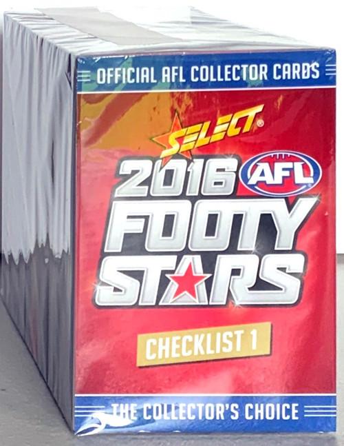 2016 AFL SELECT FOOTY STARS 220 CARD BASE SET
