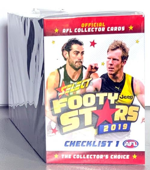 2019 AFL SELECT FOOTY STARS 232 CARD BASE SET