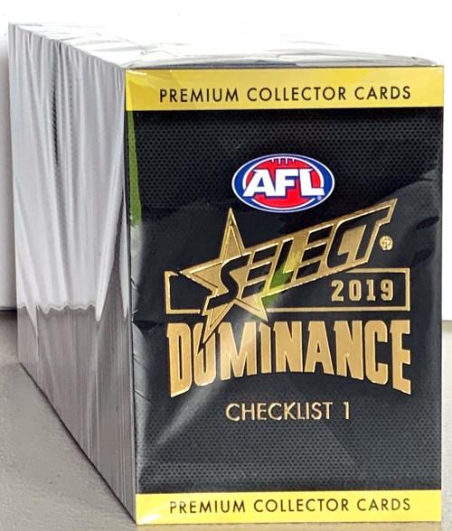 2019 AFL SELECT DOMINANCE SERIES 220 CARD BASE SET
