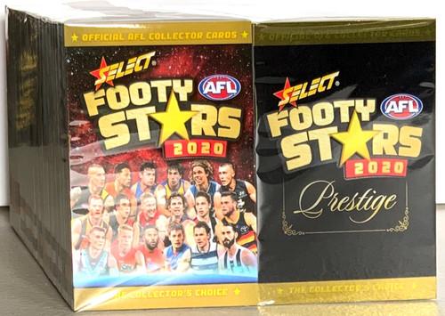 2020 AFL SELECT FOOTY STARS & PRESTIGE BASE SETS