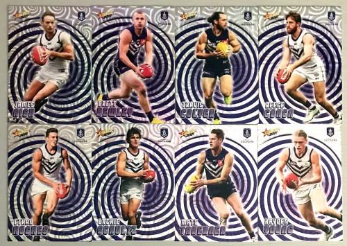 2021 AFL SELECT FOOTY STARS FREMANTLE DOCKERS HOLOGRAPHIC TEAM SET