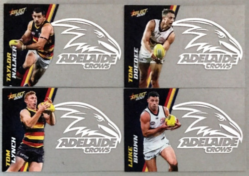 2021 AFL SELECT FOOTY STARS ADELAIDE CROWS CLUB ACETATE SET