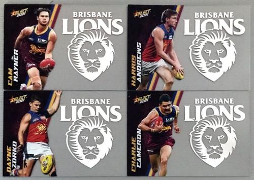 2021 AFL SELECT FOOTY STARS BRISBANE LIONS CLUB ACETATE SET