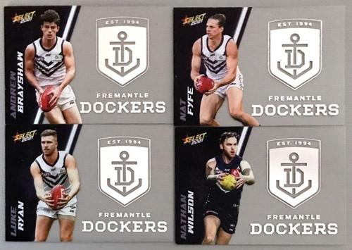 2021 AFL SELECT FOOTY STARS FREMANTLE DOCKERS CLUB ACETATE SET