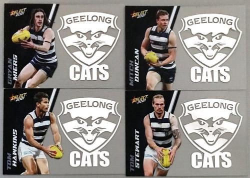 2021 AFL SELECT FOOTY STARS GEELONG CATSS CLUB ACETATE SET