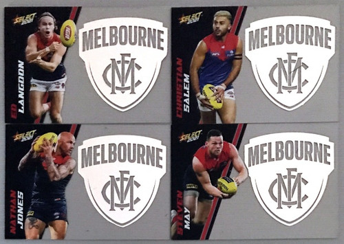 2021 AFL SELECT FOOTY STARS MELBOURNE DEMONS CLUB ACETATE SET