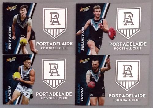 2021 AFL SELECT FOOTY STARS PORT ADELAIDE POWER CLUB ACETATE SET