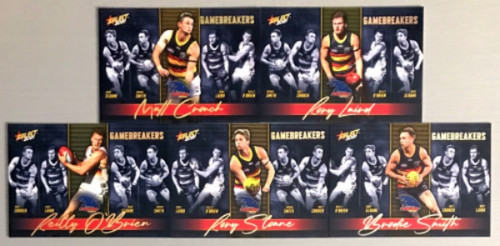 2021 AFL SELECT FOOTY STARS ADELAIDE CROWS GAME BREAKERS SET