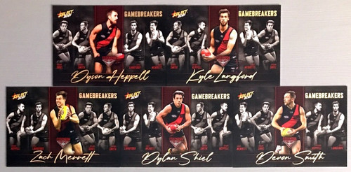 2021 AFL SELECT FOOTY STARS ESSENDON BOMBERS GAME BREAKERS SET