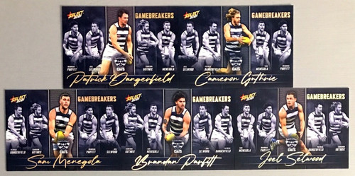 2021 AFL SELECT FOOTY STARS GEELONG CATS GAME BREAKERS SET