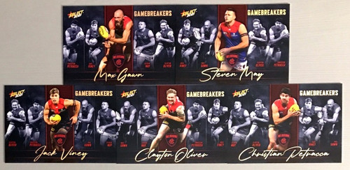 2021 AFL SELECT FOOTY STARS MELBOURNE DEMONS GAME BREAKERS SET