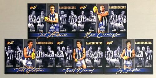 2021 AFL SELECT FOOTY STARS NORTH MELBOURNE KANGAROOS GAME BREAKERS SET
