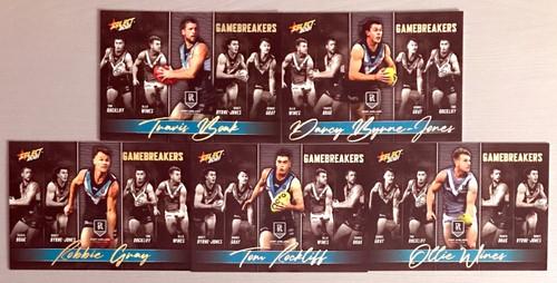 2021 AFL SELECT FOOTY STARS PORT ADELAIDE POWER GAME BREAKERS SET