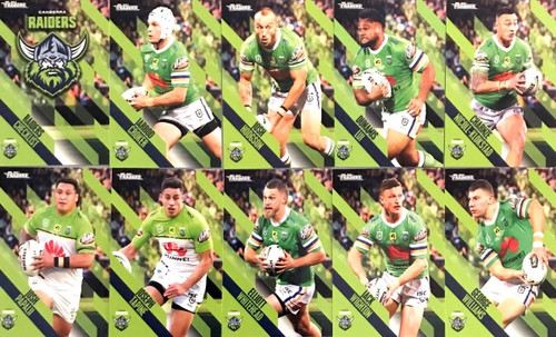 2021 NRL TRADERS CANBERRA RAIDERS BASE TEAM SET