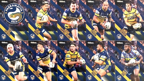 2021 NRL TRADERS PARRAMATTA EELS  BASE TEAM SET
