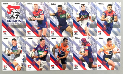 2021 NRL TRADERS NEWCASTLE KNIGHTS PEARL PARALLEL TEAM SET