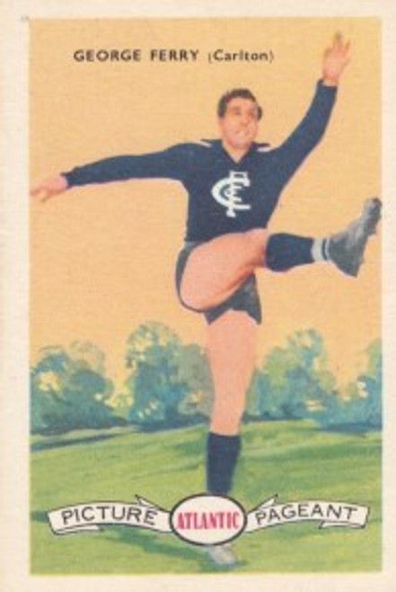1958 Atlantic Victorian league Stars Carlton Blues GEORGE PERRY