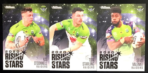 2021 NRL TLS TRADERS CANBERRA RAIDERS RISING STARS TEAM SET