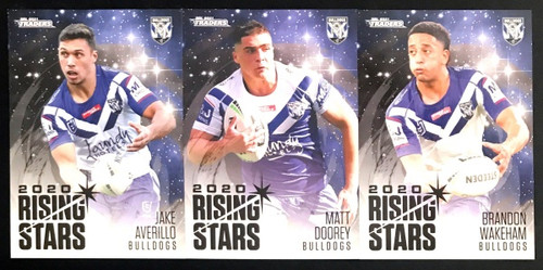 2021 NRL TLS TRADERS CANTERBURY BULLDOGS RISING STARS TEAM SET