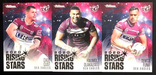 2021 NRL TLS TRADERS MANLY SEA-EAGLES RISING STARS TEAM SET