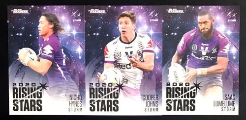 2021 NRL TLS TRADERS MELBOURNE STORM RISING STARS TEAM SET