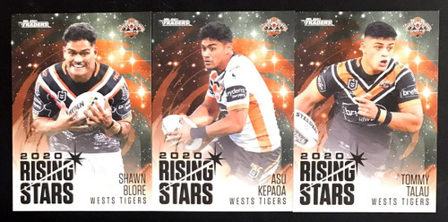 2021 NRL TLS TRADERS WESTS TIGERS RISING STARS TEAM SET