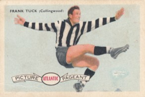 1958 Atlantic Victorian league Stars Collingwood Magpies FRANK TUCK