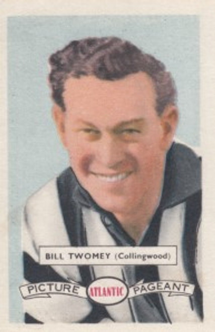 1958 Atlantic Victorian league Stars Collingwood Magpies BILL TWOMEY