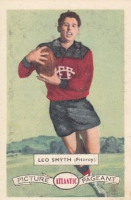 1958 Atlantic Victorian league Stars Fitzroy Lions LEO SMITH
