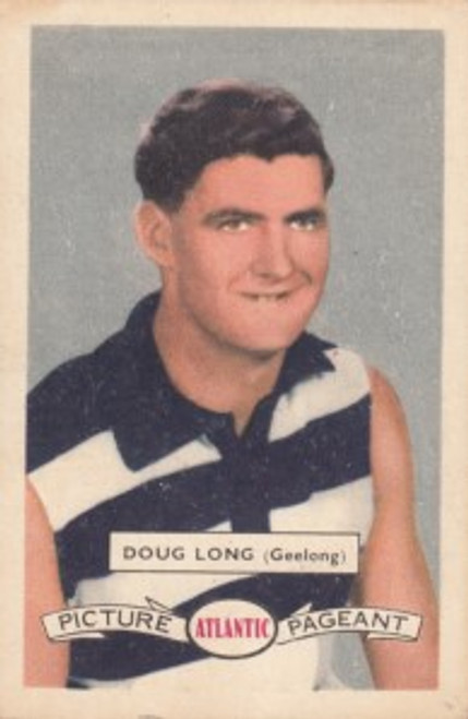 1958 Atlantic Victorian league Stars Geelong Cats DOUG LONG
