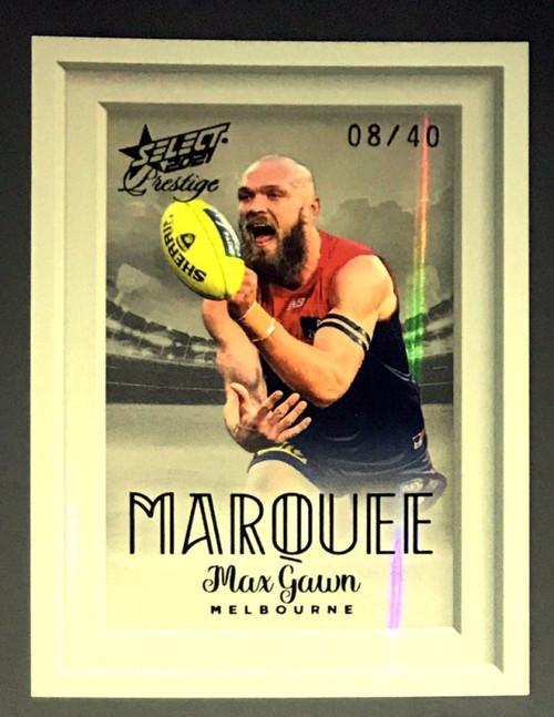 2021 AFL PRESTIGE MAX GAWN MELBOURNE DEMONS MARQUEE CARD