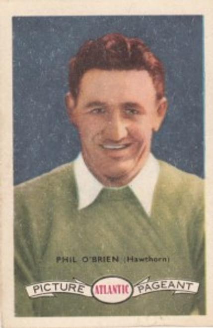 1958 Atlantic Victorian league Stars Hawthorn Hawks PHIL O'BRIEN