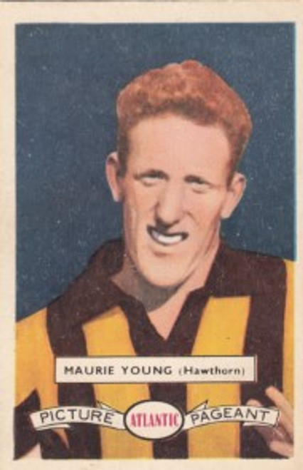 1958 Atlantic Victorian league Stars Hawthorn Hawks MAURIE YOUNG