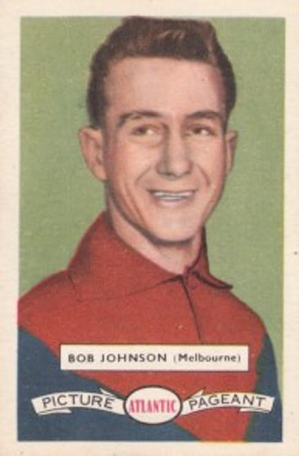 1958 Atlantic Victorian league Stars Melbourne Demons BOB JOHNSON