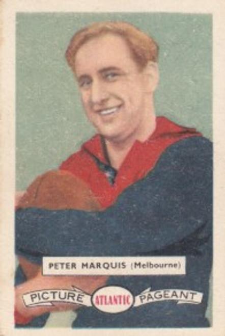 1958 Atlantic Victorian league Stars Melbourne Demons PETER MARQUIS