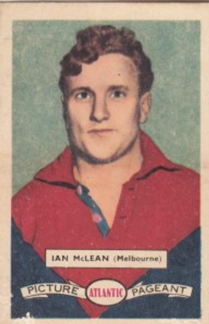 1958 Atlantic Victorian league Stars Melbourne Demons IAN McLEAN