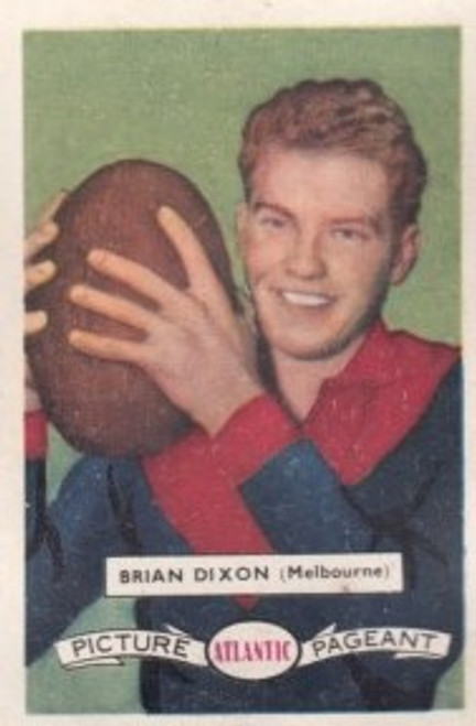 1958 Atlantic Victorian league Stars Melbourne Demons BRIAN DIXON