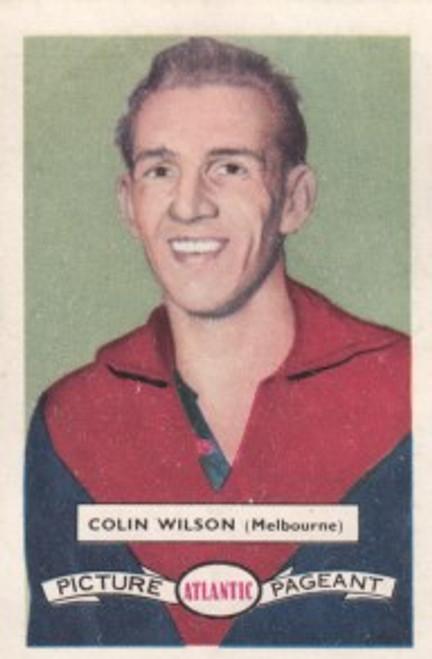 1958 Atlantic Victorian league Stars Melbourne Demons COLIN WILSON