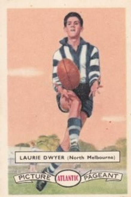 1958 Atlantic Victorian league Stars North Melbourne Kangaroos LAURIE DWYER
