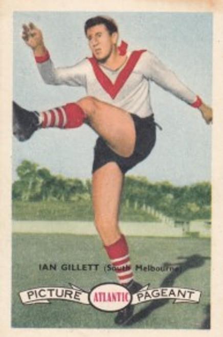 1958 Atlantic Victorian league Stars South Melbourne Swans IAN GILLETT