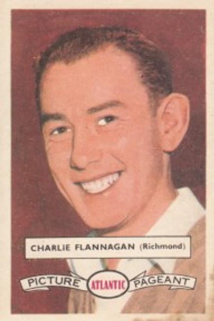 1958 Atlantic Victorian league Stars Richmond Tigers CHARLIE FLANAGAN