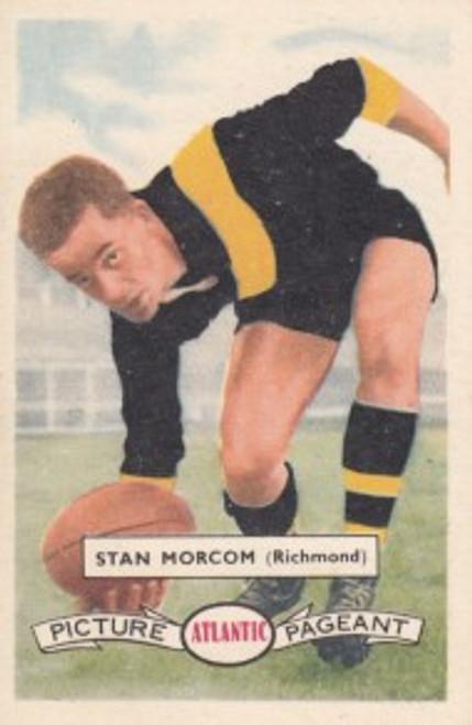 1958 Atlantic Victorian league Stars Richmond Tigers STAN MORCOM