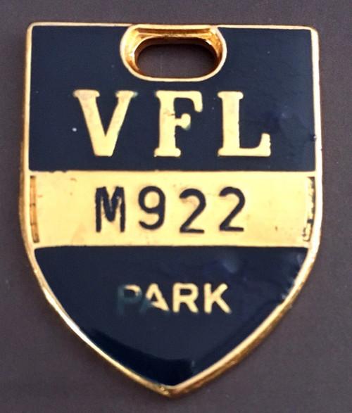 VFL PARK  MEMBER MEDALLION 1979 SEASON
