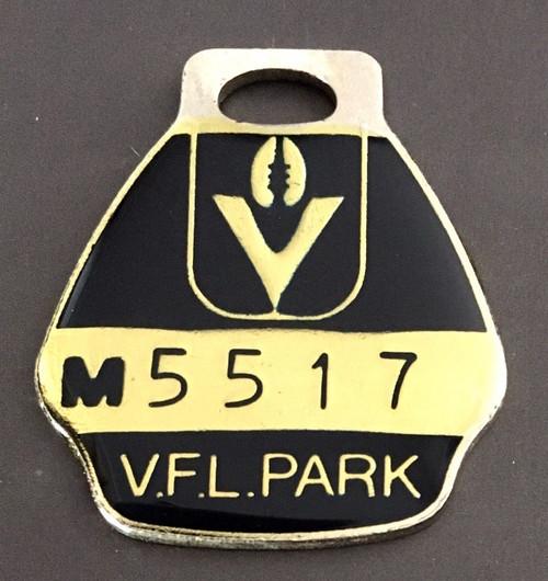 VFL PARK MENS MEMBER MEDALLION 1985 SEASON