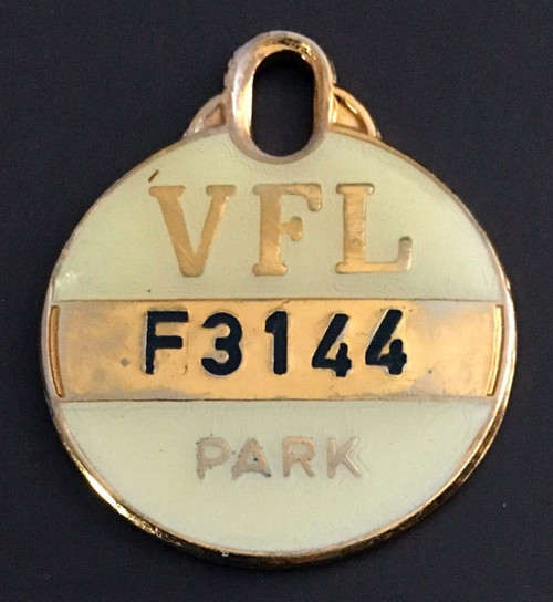 VFL PARK FEMALE MEMBER MEDALLION 1979 SEASON