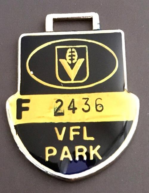 VFL PARK FEMALE MEMBER MEDALLION 1987 SEASON