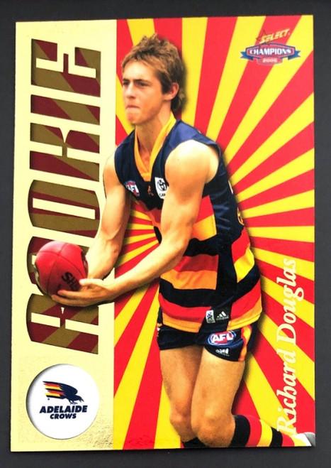 2006 Select AFL Rookie Card RICHARD DOUGLAS Adelaide Crows