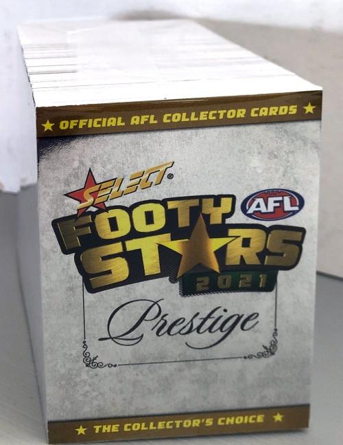 2021 AFL SELECT PRESTIGE 163 CARD BASE SET