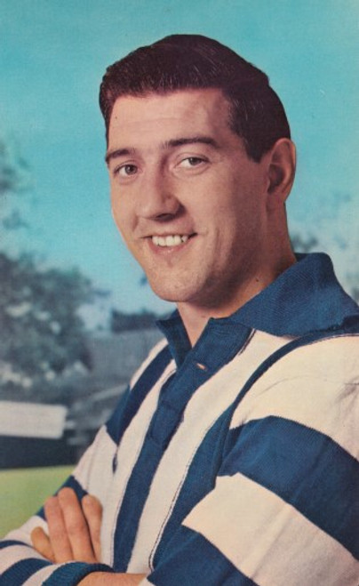 1964 Mobil Football Photos Card BARRY CHEATLEY North Melbourne Kangaroos