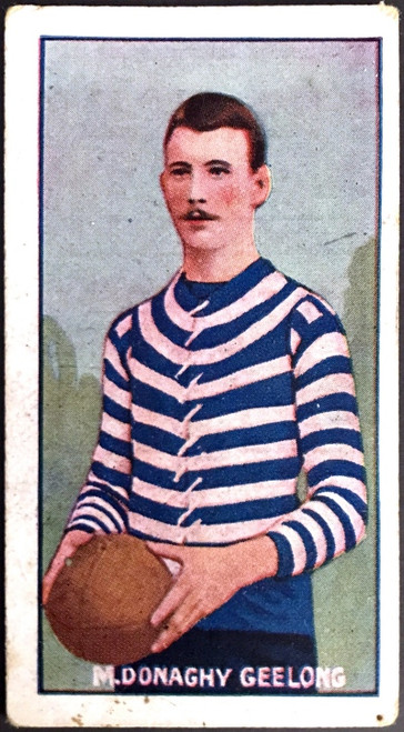 1907 Standard Cigarettes- Sniders & Abrahams C Series M DONAGHY Geelong Cats